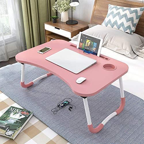 1090 Multipurpose Foldable Laptop Table with Cup Holder - DeoDap