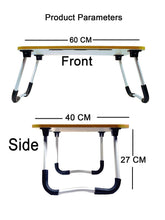 Load image into Gallery viewer, 1090 Multipurpose Foldable Laptop Table with Cup Holder - DeoDap