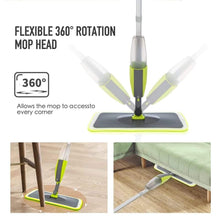 Load image into Gallery viewer, 0802 Cleaning 360 Degree Healthy Spray Mop with Removable Washable Cleaning Pad - DeoDap