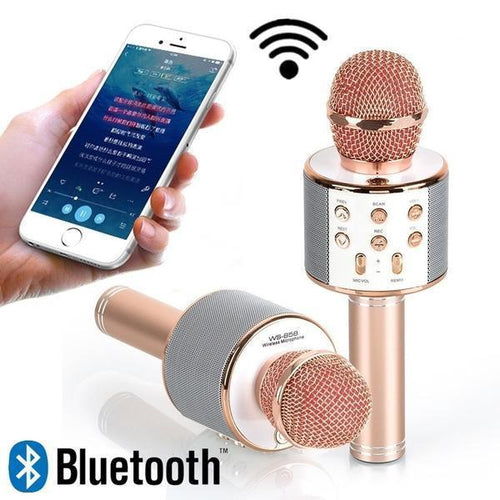 0273 Bluetooth Microphone Player speaker (Karaoke) - DeoDap