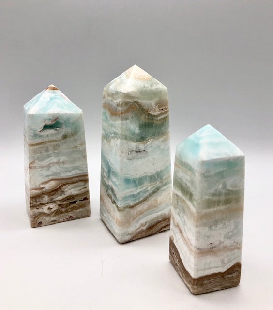 Calcite healing crystal towers - ZenJen shop