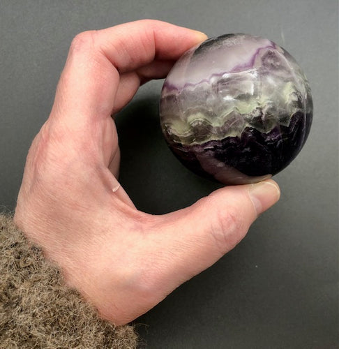 fluorite crystal ball - ZenJen shop