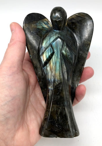 labradorite crystal angel - ZenJen shop