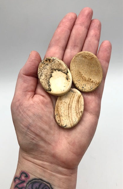 picture jasper worry stone - ZenJen shop