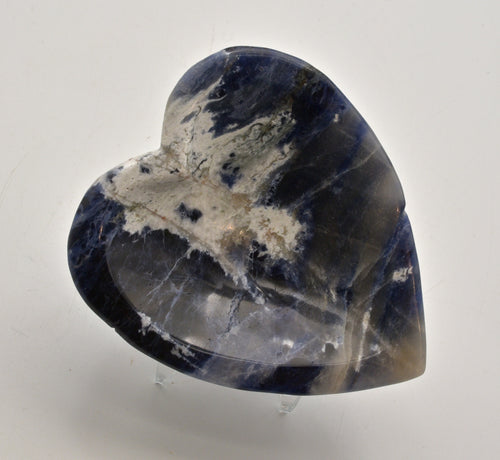 Sodalite crystal heart bowl - ZenJen shop