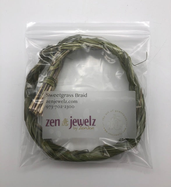 sweetgrass braid - ZenJen shop