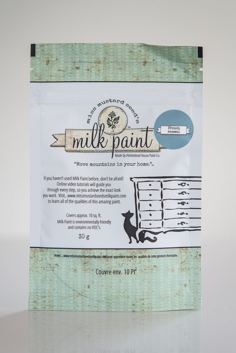 French Enamel 30 g Sample Miss Mustard Seed's Milk Paint