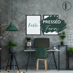 Pressed Fern Fusion Mineral Paint Painted Furniture