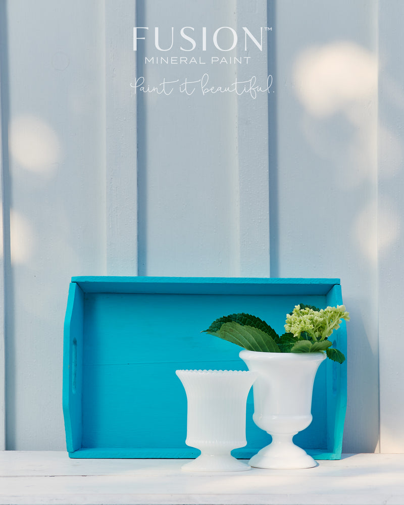 Azure Fusion Mineral Paint Painted Furniture