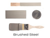 Brushed Steel Metallic Fusion Mineral Paint