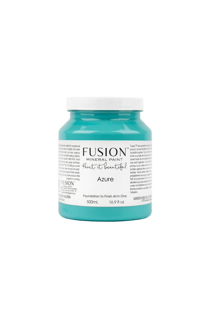 Azure Fusion Mineral Paint 500 ml Pint