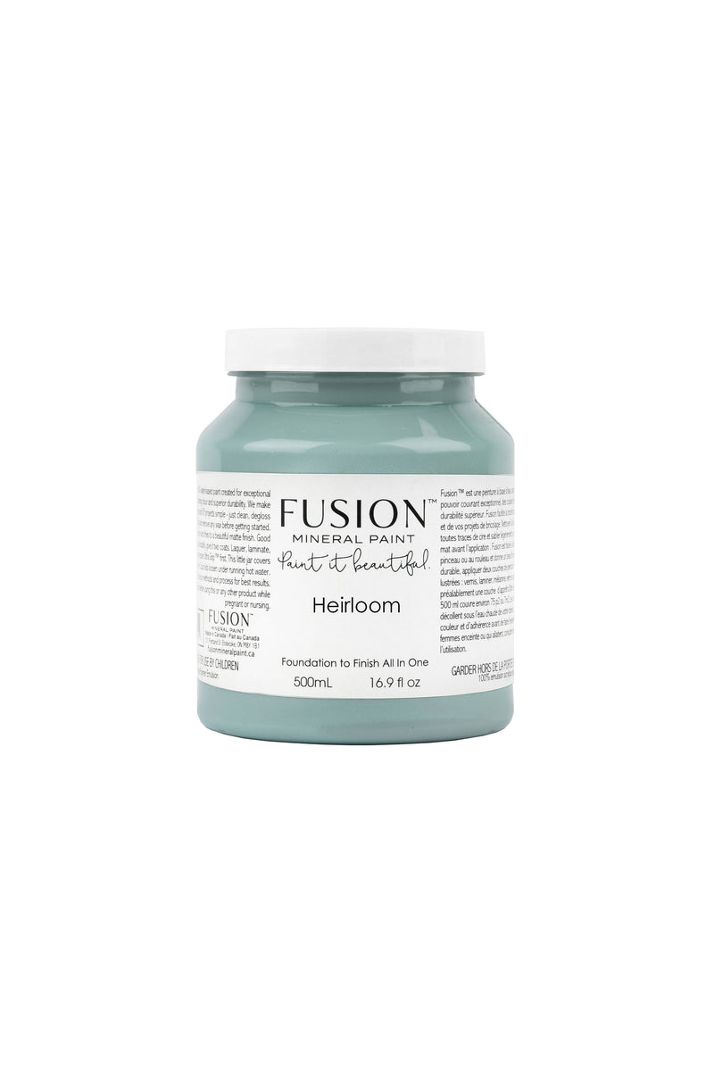 Heirloom Fusion Mineral Paint 500 ml Pint