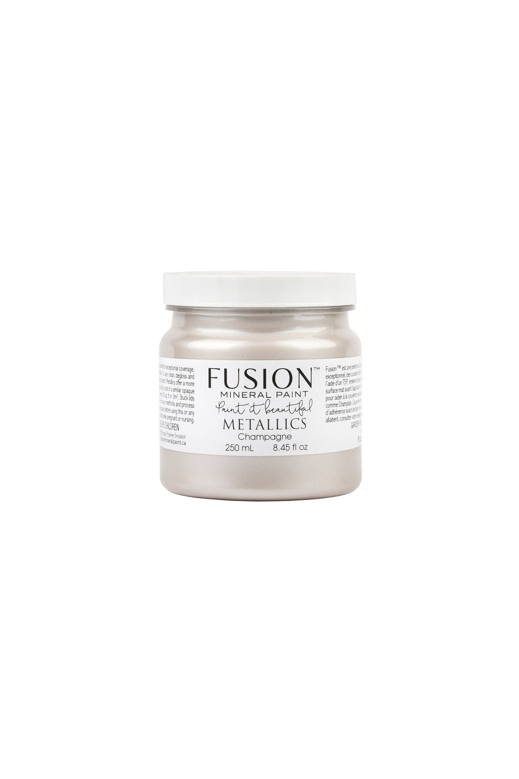 Champagne Metallic Fusion Mineral Paint 250 ml