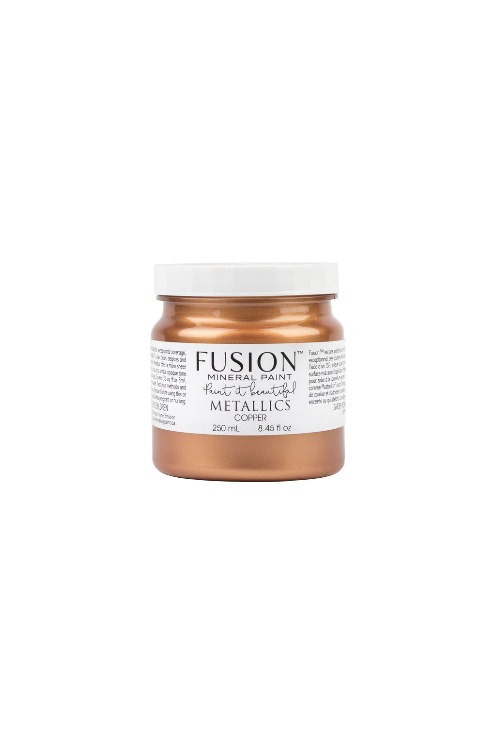 Copper Metallic Fusion Mineral Paint 250 ml