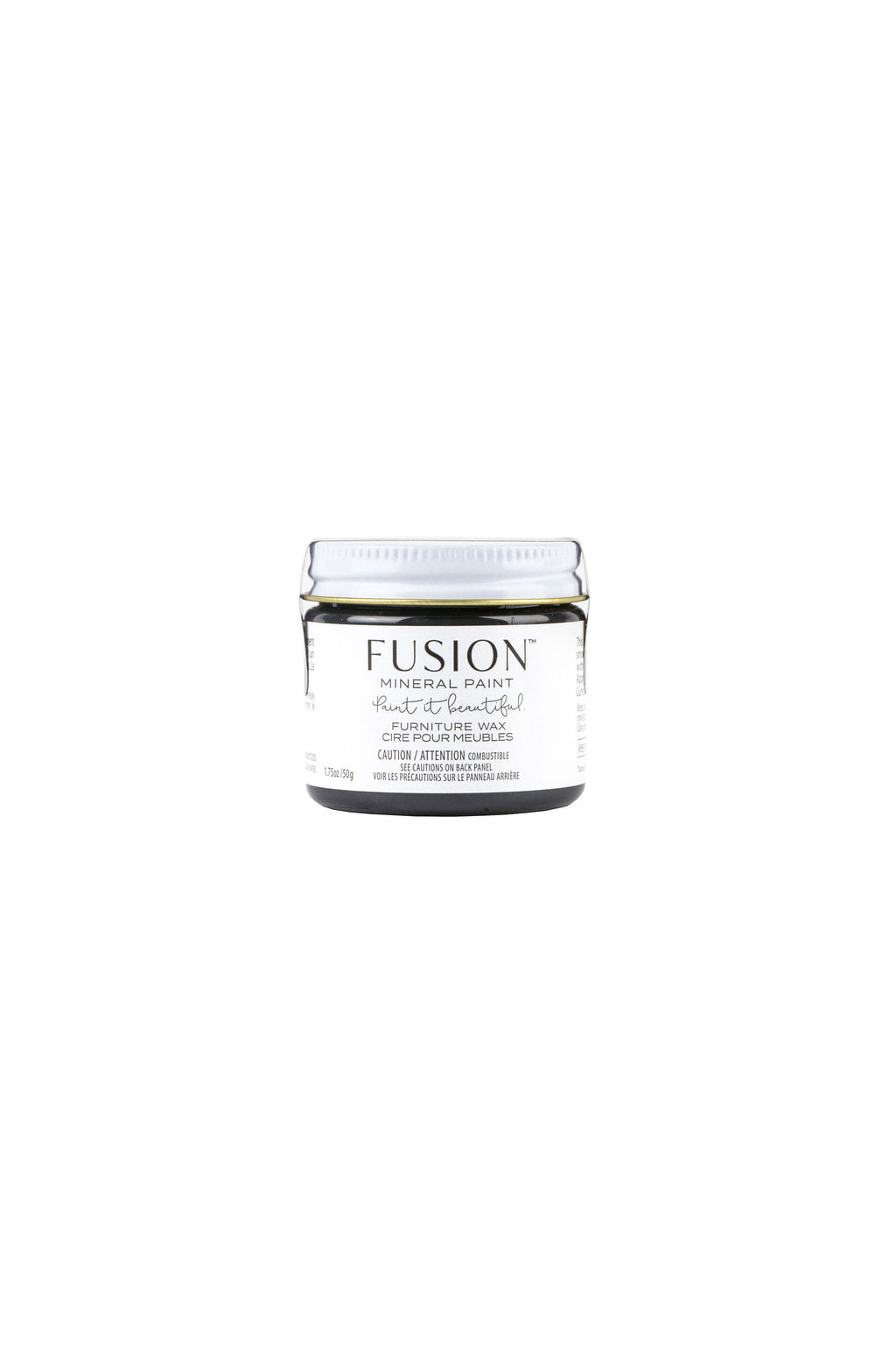 Fusion Mineral Paint Black Wax 50 g