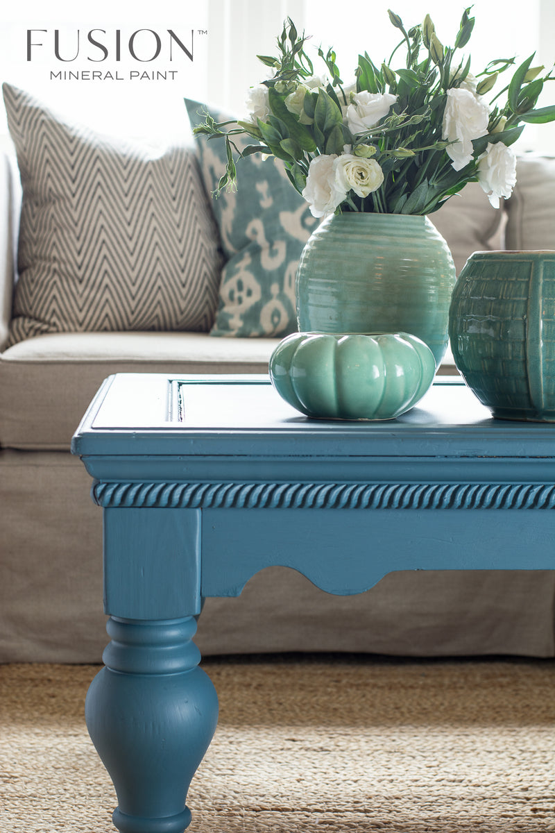 Seaside Fusion Mineral Paint Painted Table