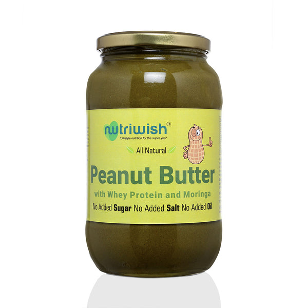 Nutriwish Peanut with Whey protein and Moringa Butter, 250g