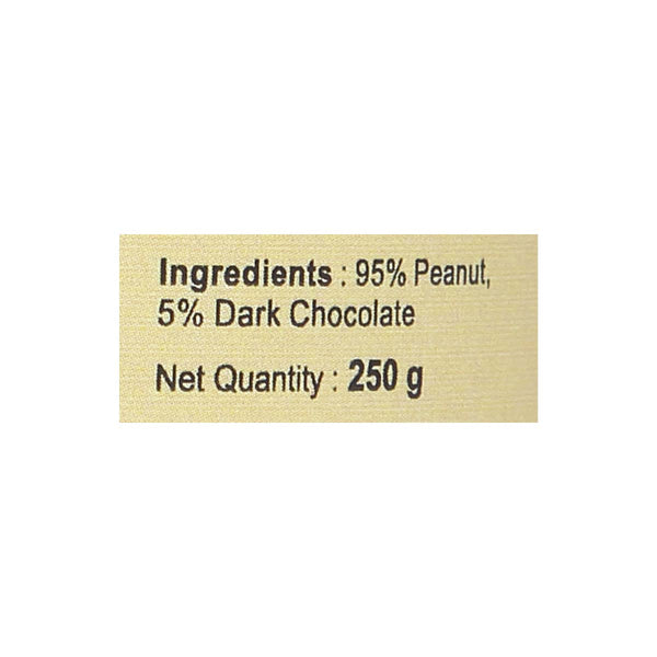 Nutriwish Peanut Butter with Dark chocolate, 250g
