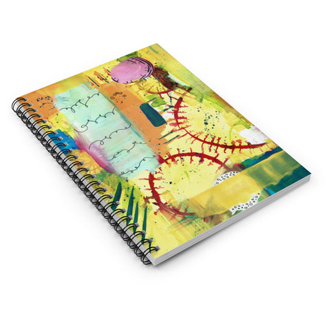 Wheels Spiral Notebook - Ruled Line