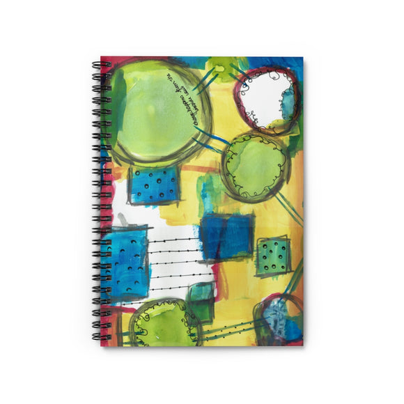 Change Inside Out Spiral Notebook - Ruled Line