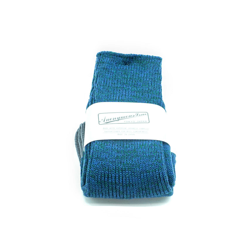 Anonymous-ism socks - Blue