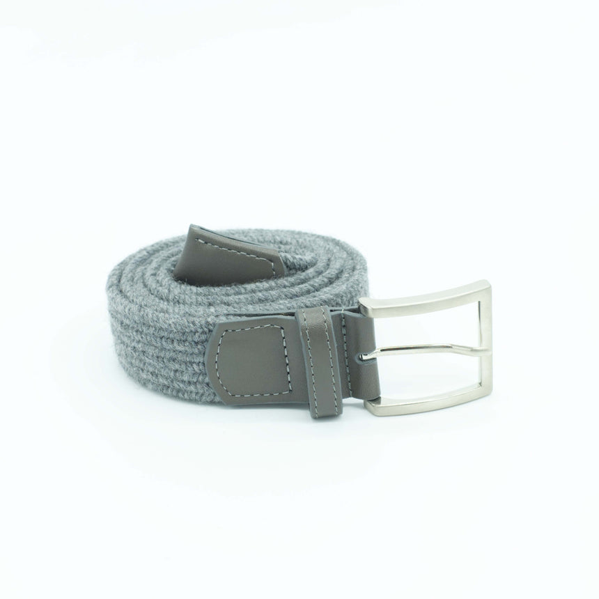 Vernizzi stretch belt - Grey