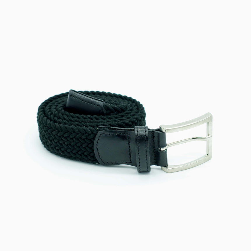 Vernizzi stretch belt - Black