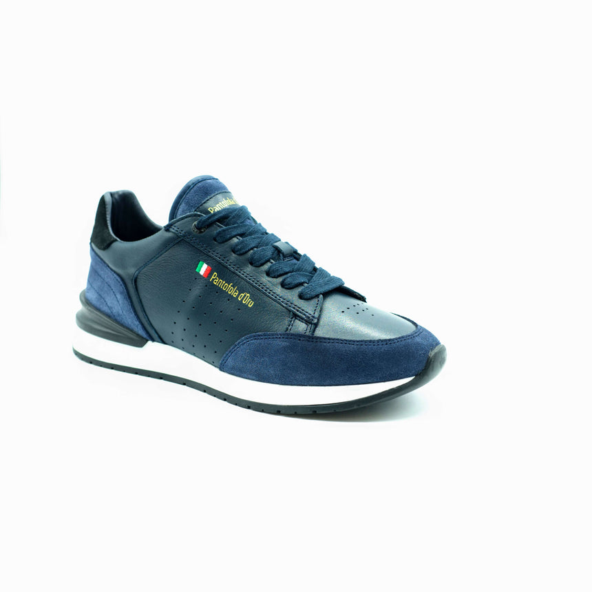 Blue Pantofola d'Oro trainers