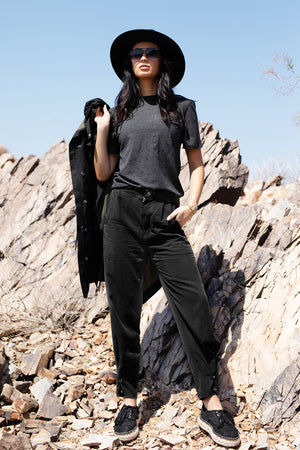 Tencel Travel Pant - Black