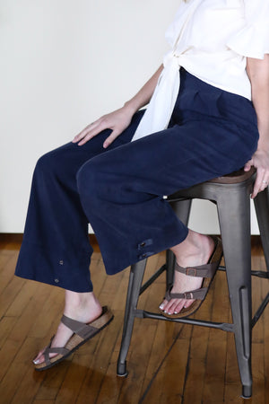 Tencel Travel Pant - Navy
