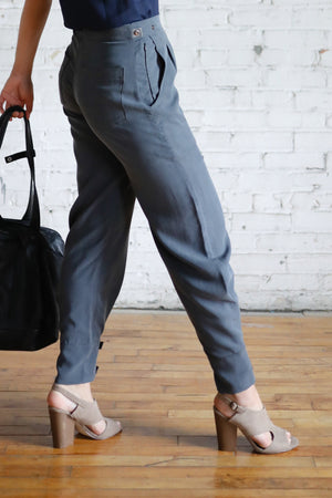 Tencel Travel Pant - Charcoal
