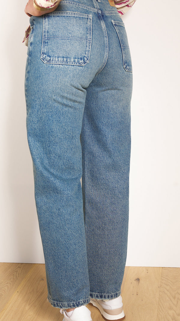 JEANS BUSBOROW AMERICAN VINTAGE BLUE DIRTY BUS11B
