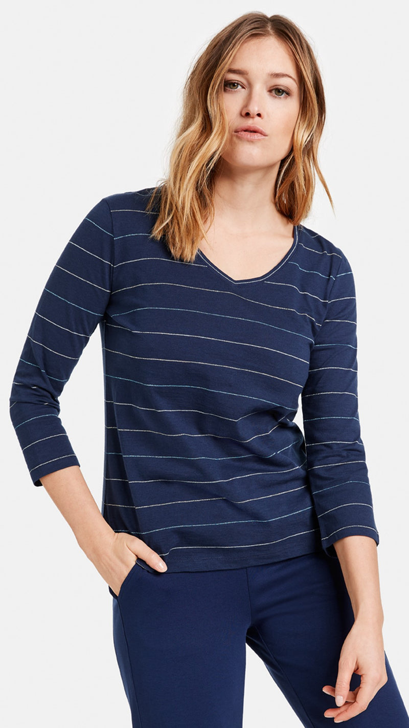 TEE-SHIRT  V RAYE GERRY WEBER EDITION 470045 44142