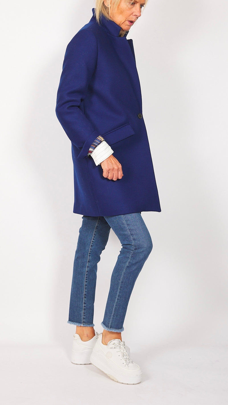 MANTEAU MI-LONG - VOLTAIRE