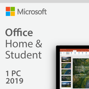 Microsoft Office Home and Student 2019 License 1 PC or Mac