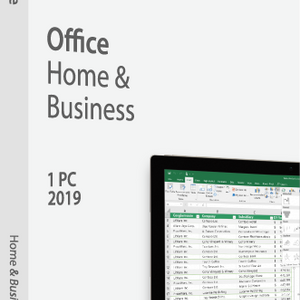 Microsoft Office Home and Business 2019 Retail Box