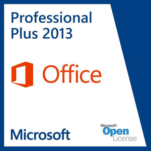 Microsoft Office Professional Plus 2013 - License OLP