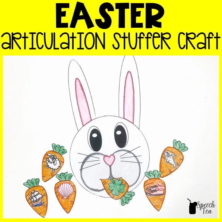 Easter Articulation Stuffer Craft