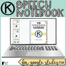 Load image into Gallery viewer, K Articulation Digital Interactive Notebook