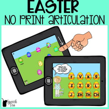 Load image into Gallery viewer, No Print Easter Articulation