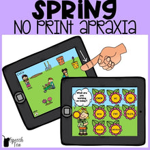 Load image into Gallery viewer, No Print Spring Apraxia