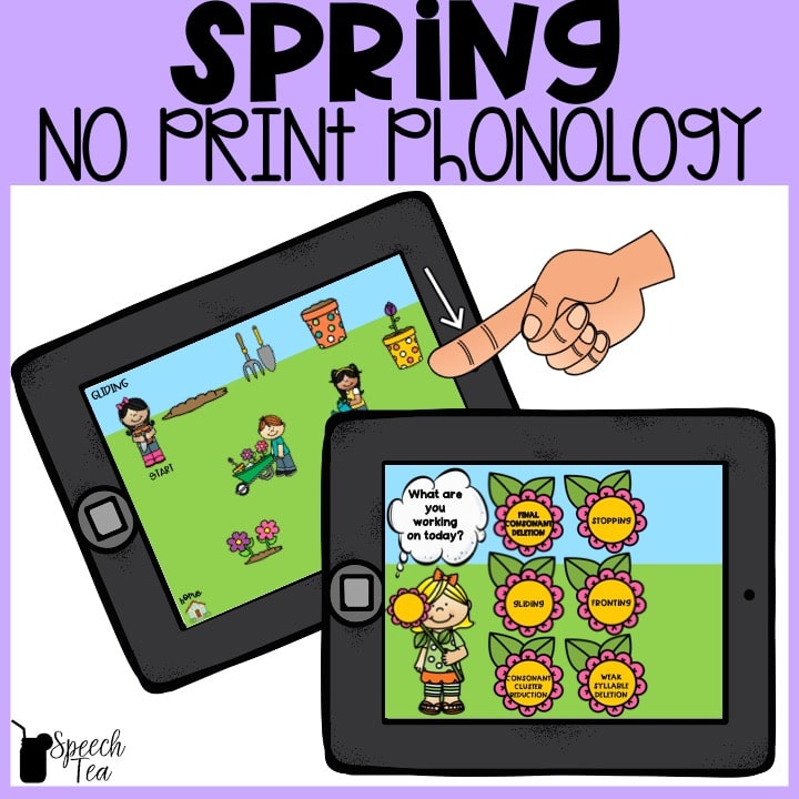 No Print Spring Phonological Processes