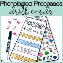 Load image into Gallery viewer, Phonological Processes Drill Cards