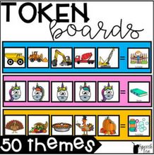 Load image into Gallery viewer, Themed Token Boards