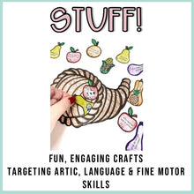 Load image into Gallery viewer, Thanksgiving Speech Therapy Stuffer Craft Bundle
