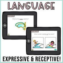 Load image into Gallery viewer, No Print Summer Speech Therapy Drill Cards