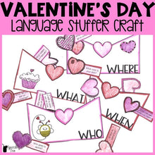 Load image into Gallery viewer, Valentines Day Language Stuffer Craft