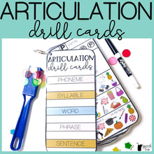 Load image into Gallery viewer, Articulation Drill Cards: Multi-leveled in All Positions