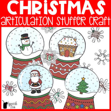 Load image into Gallery viewer, Christmas Articulation Stuffer Craft