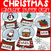 Load image into Gallery viewer, Christmas Language Stuffer Craft